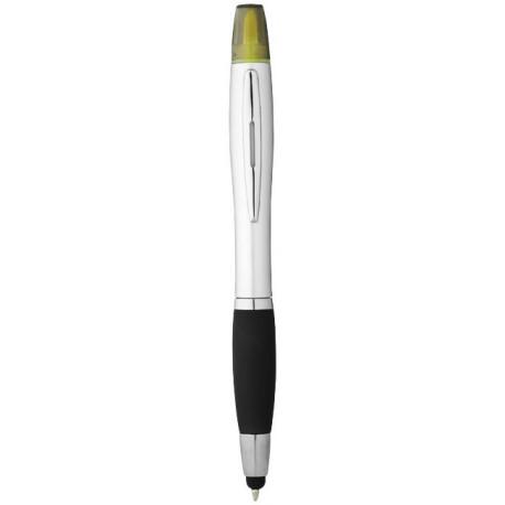 Nash stylus ballpoint pen and highlighter