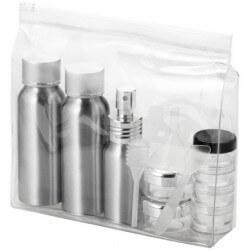 Zestaw butelek aluminiowych do samolotu, FRANKFURT