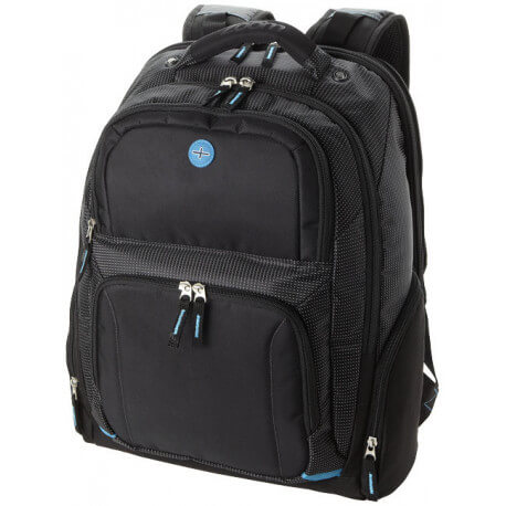 "Ty airport security friendly 15.6"" laptop backpack"