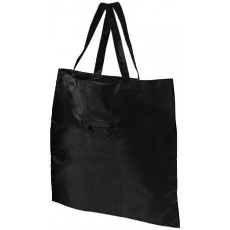 Take away foldable shopping tote bag with keychain