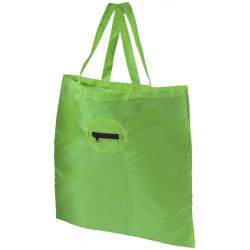 Take-away fodable shopping tote bag