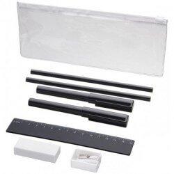 Mindy 8-piece pencil case set
