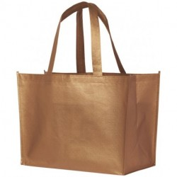 Alloy laminated non-woven shopping tote bag