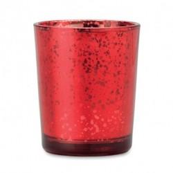 Szklany świecznik tea light, PURPURIN