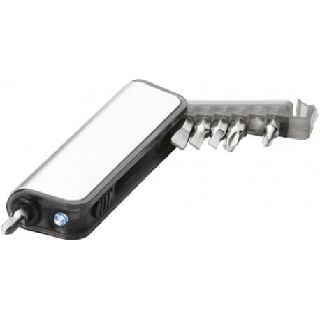 Mini zestaw narzędzi z latarką 7-funkcyjny, RENO