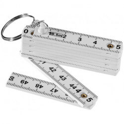 Harvey 0.5 metre foldable ruler keychain
