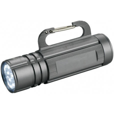 Cappy 9-LED torch light with carabiner