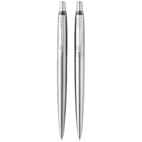 Jotter stainless steel dual writing set