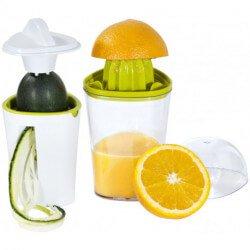 Juicee 2-in-1 juicer and spiral slicer set
