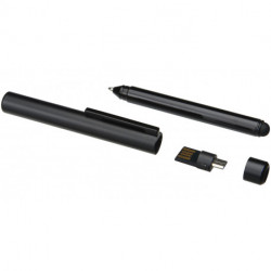OTG stylus ballpoint pen with USB flash drive