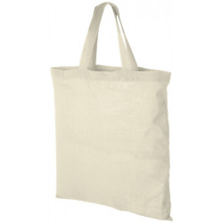 Virginia 100 g/m² short handles cotton tote bag