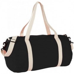 Cochichuate cotton barrel duffel bag