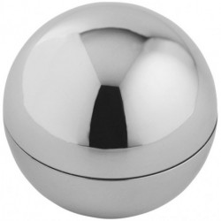 Rolli vanilla lip balm in metallic ball