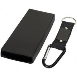 Strap carabiner keychain